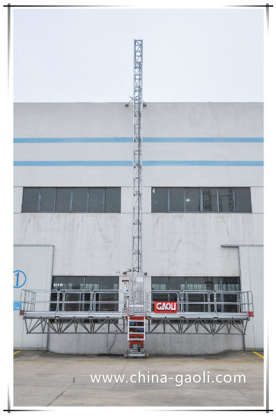 Gaoli Single Mast Climbing Work Platform with Ce and GOST