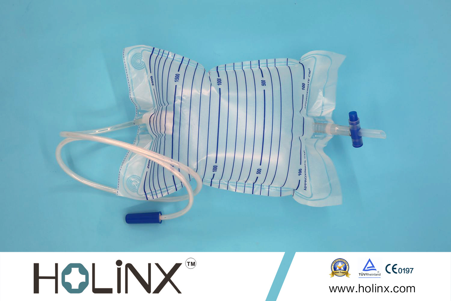 China OEM High Quality Disposable Plastic Urine Bag, Adult Urine Collection Bag