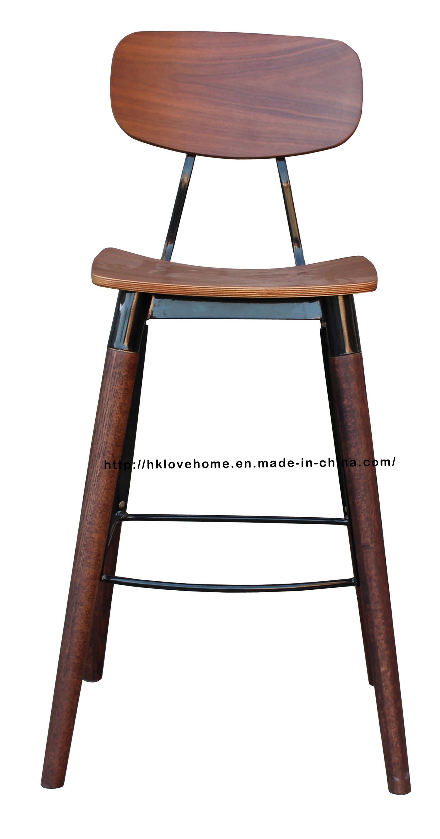 Morden Restaurant Furniture Walnut Copine Sean Dix Bar Dining Chairs