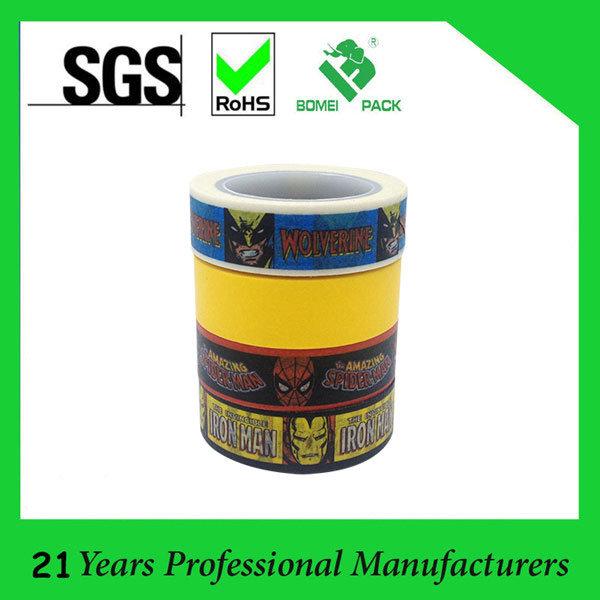 3+1 Combination Set Decorative Washi Tape Sticky DIY Stationery Adhesive Sticker