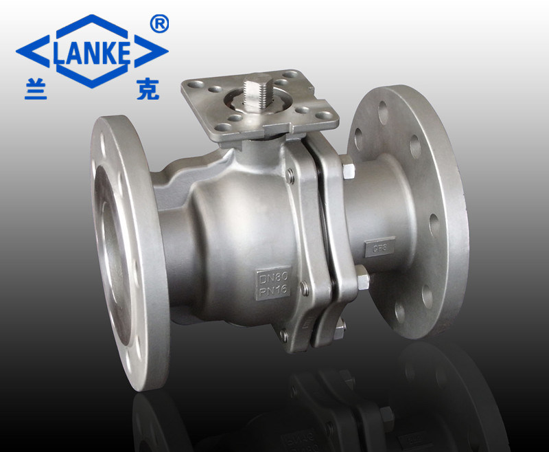 150lb Stailess Steel 304/316 Flanged Ball Valve for Industry Use (Q41)