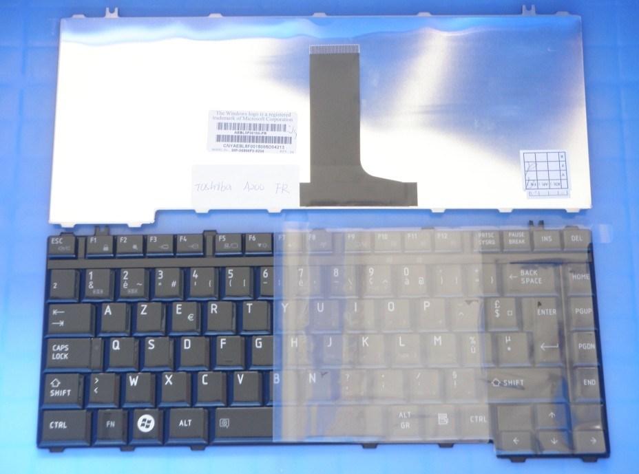 Original Keyboard for Toshiba A200 M300 A300 Glossy Black It/Fr/Us/Sp Keyboard
