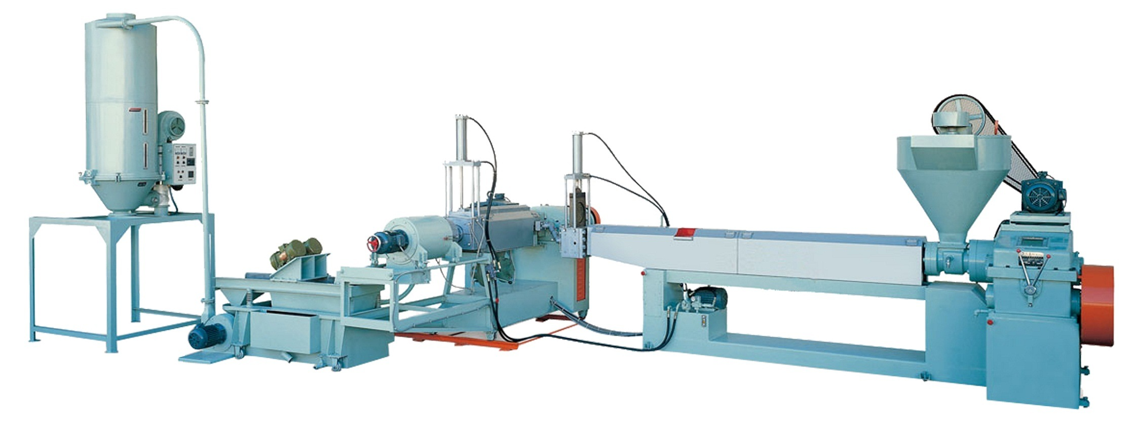 Plastic Waste Recycling Machine (Force-feeding)