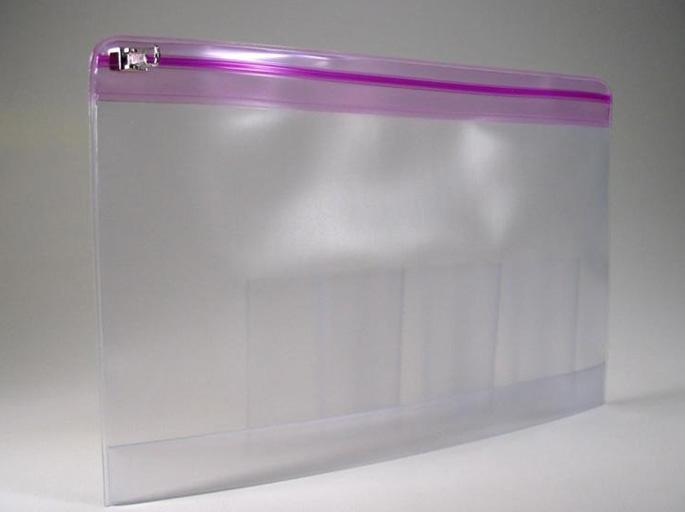 China Clear Waterproof Pvc Zip Lock Bag China Plastic