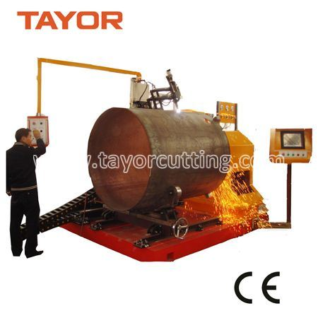 CNC Metal Pipe Cutter, CNC Plasma Pipe Cutter, Big Pipe Plasma Cutter