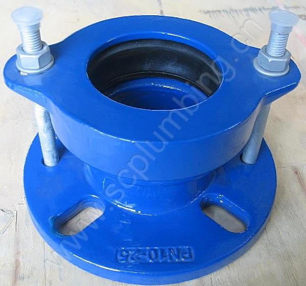 China ductile iron flange adaptor couplings photos
