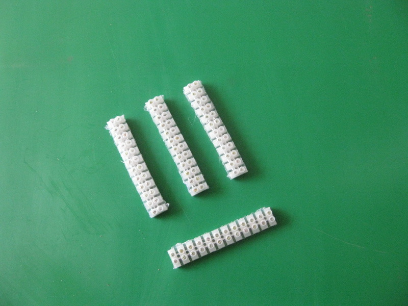 12 Way Polyamide Plastic Strip Terminal Connector (3A to 100A)