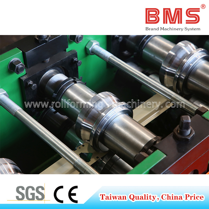 Single Punching Z Beam Roll Forming Mach...
