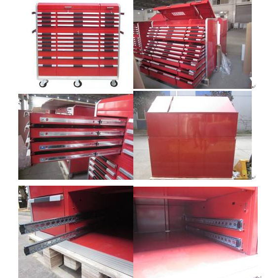Heavy Duty Tools Storage Cabinet with 33 Aluminum Handle Drawers