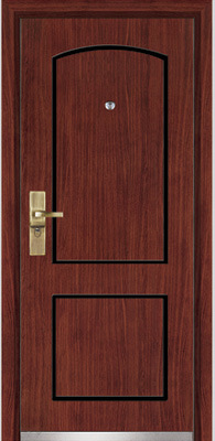 Steel Wooden Armored Door (YF-G9020)