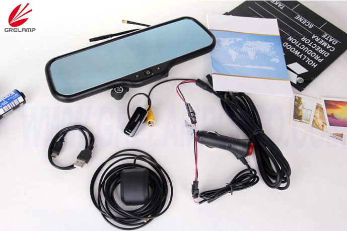 Car GPS (CAR DVR+ANDROID+REARVIEW MIRROR)