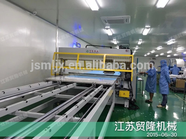 Precision Hydraulic Non Woven Fabric Making Machine for Face Mask Fabric