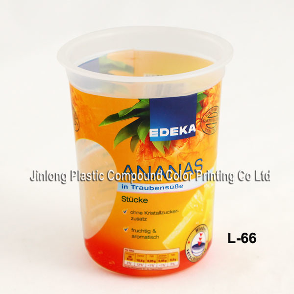 PVC Shrink Label for Cans ISO9001: 2008 Certificated (L-59)