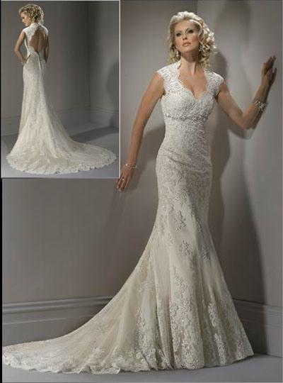 Modern 2011 Wedding Dress Hs190