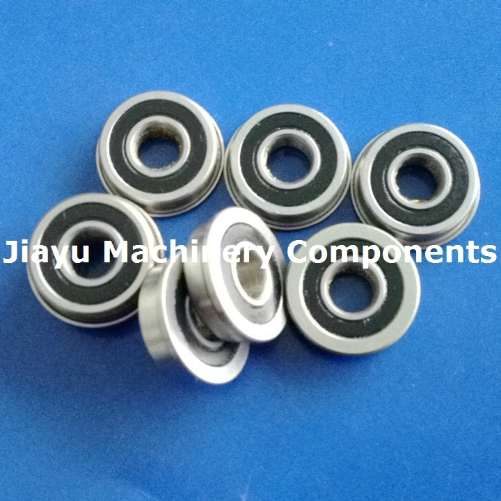 Fr4zz Flange Ball Bearings 1/4 X 5/8 X 0.196 Fr4-2RS RF4zz RF-4zz