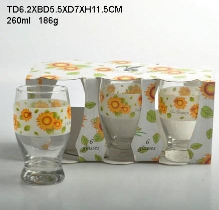 Glass Cup (29-0197-12-NC)