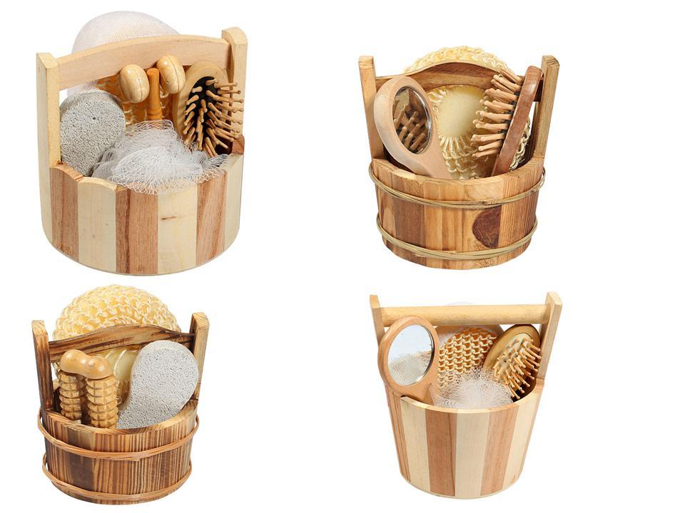 China Wooden Packing Bathroom Set / Bath Accessory - China Bath Sets ...