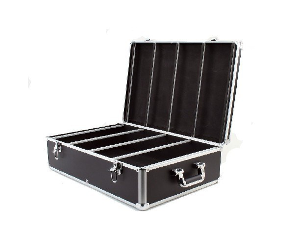 China 800 cd dvd aluminum storage case 400 hanger sleeves photos pictures made in - Dvd case holder shelf ...