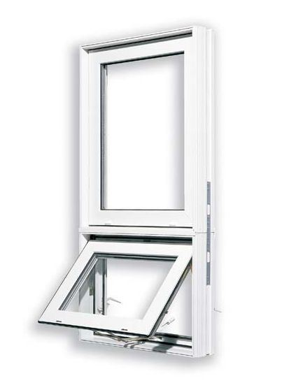 PVC Awning Window With Fixed Window