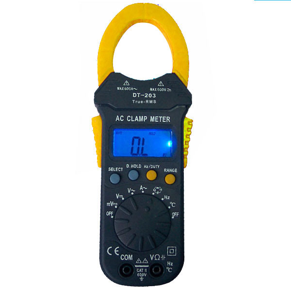 True Rms Meter : China true rms clamp meter dt t multimeter dmm