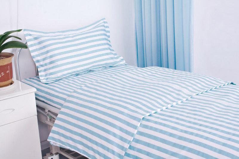 China bed sheet set for hospital qrw 007 china bed sheet set