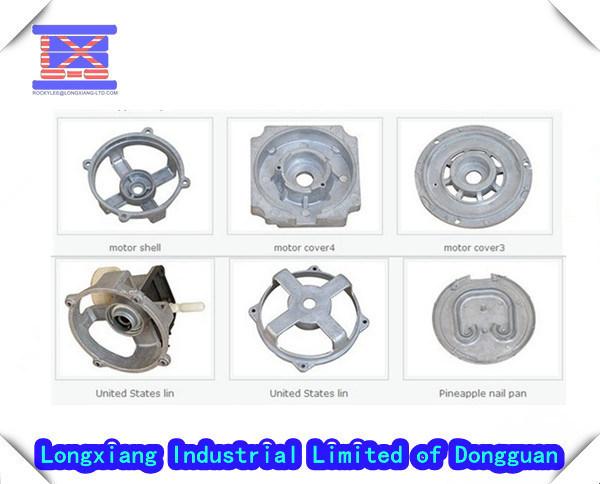 Professional Aluminum Parts and Zinc Components Die Casting