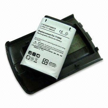 PDA Extended Battery with Cover for Blackberry 7100V