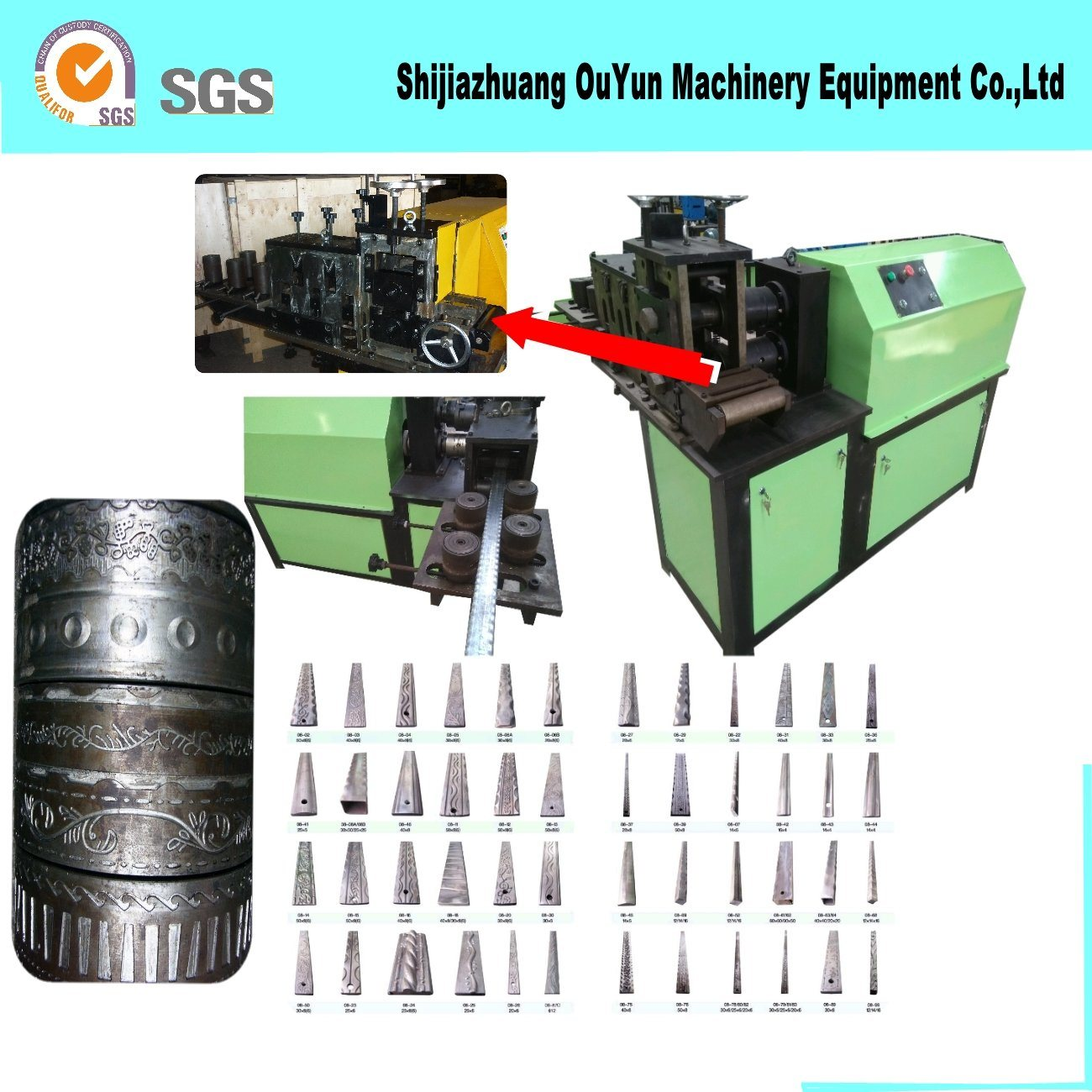 Embossing Machine/Metal Processing Machinery of Ornaments