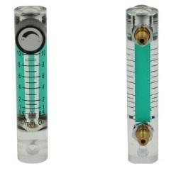 Panel Mount Acrylic Flowmeter-Air Flow Meter-Glass Rotameter-Oxygen Flow Meter