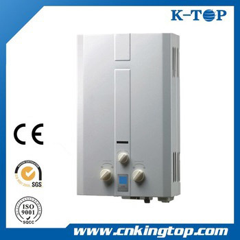 White Panel (6-24L) Instant Gas Water Heater with Ce
