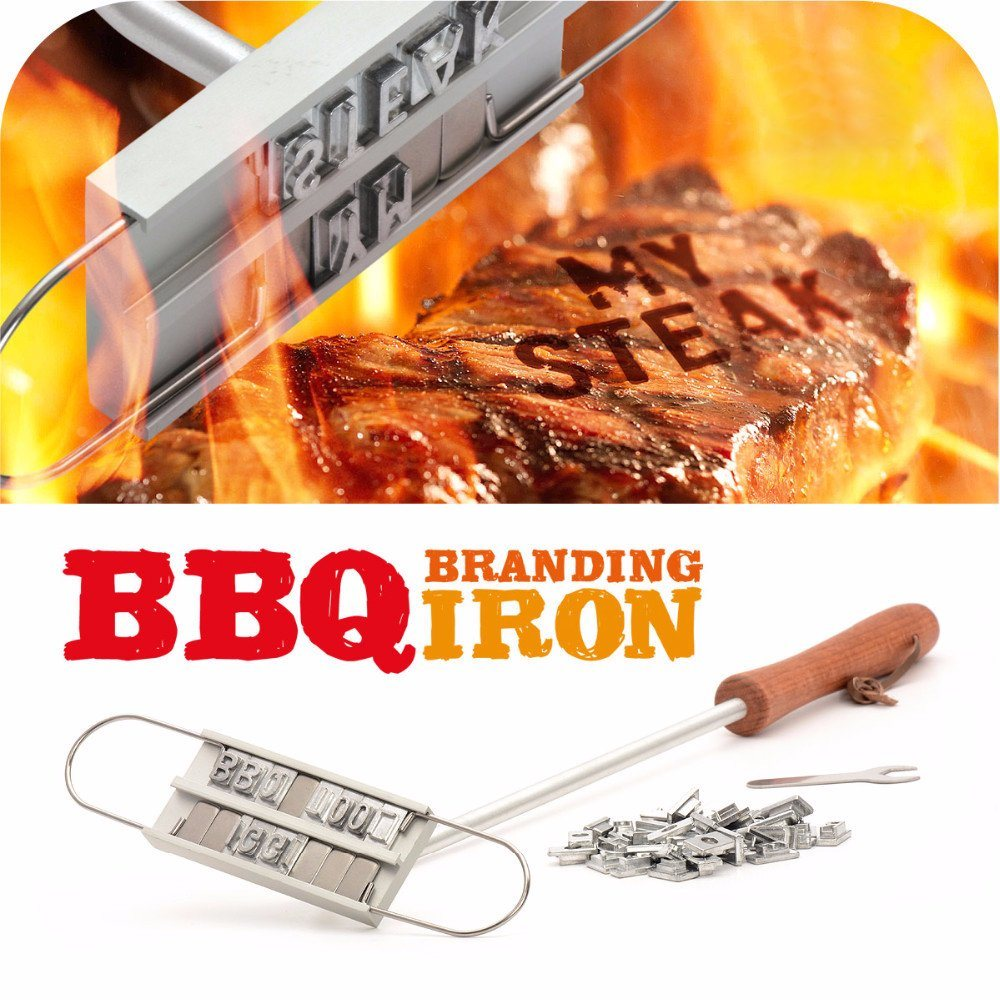 BBQ Branding Iron with Changeable Letters