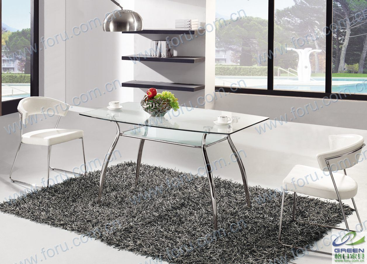 China Contemporary Furniture (TABLE CT-030 CHAIR CY-352
