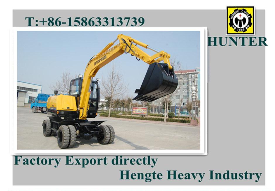Wheeled Excavator (HTL65-8)