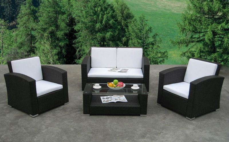 Sofa Set CHW097  China Garden Rattan Sofa Set, Wicker Sofa Set
