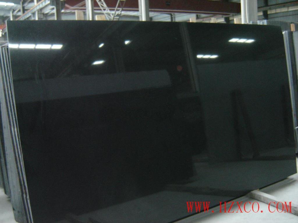 Shanxi Black/Black Granite Tiles/Slabs for Countertop/Vanitytop/Sink/Wall Tile/Paving