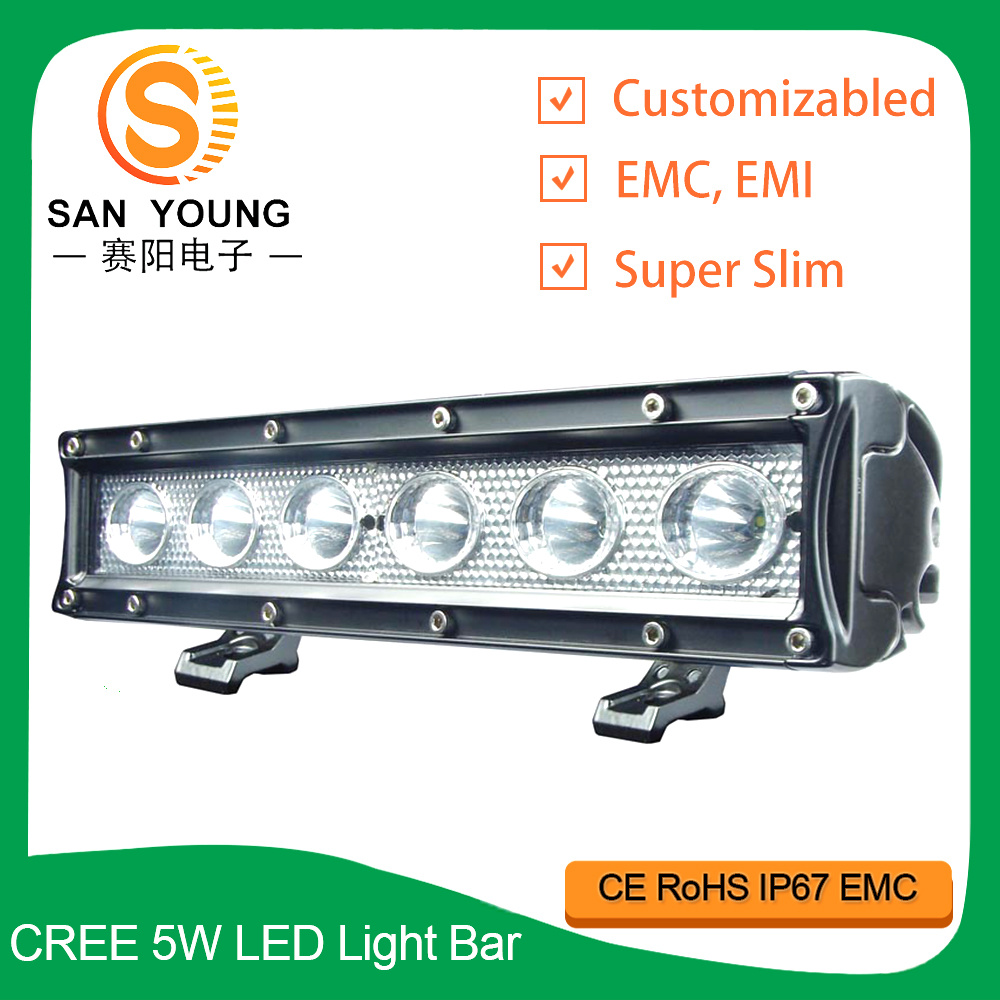 Auto LED Light Bar 10 Inch 30W for Offroad Driving