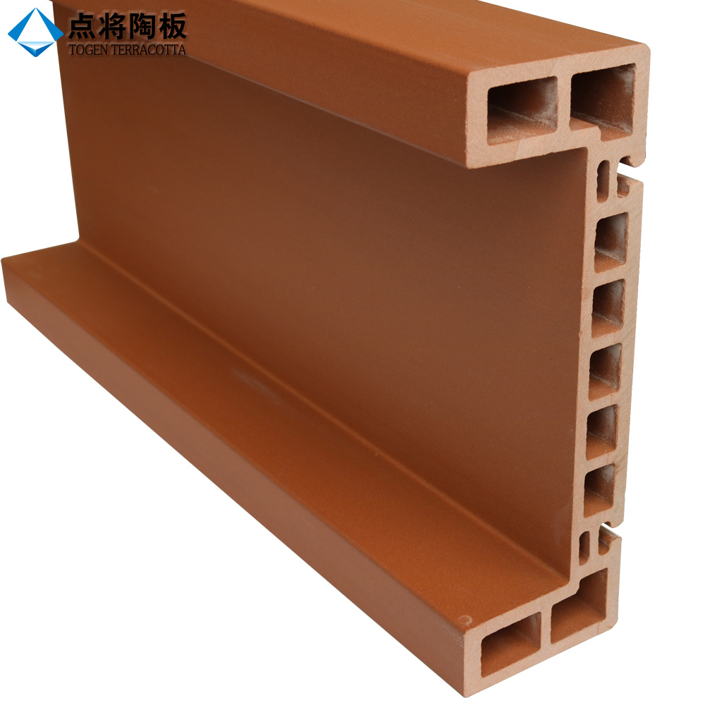 Special-Shape Terracotta Facade Panel for Wall Cladding