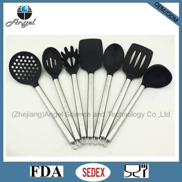 Holiday Promotion Cooking Tool Set Silicone Kitchenware Sk25