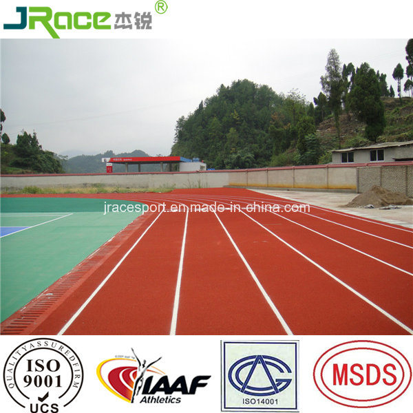 Good UV Resistance Outdoor Synthetic Athletic Tracks