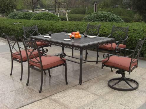 Succinct Patio Garden Dining Set Furniture