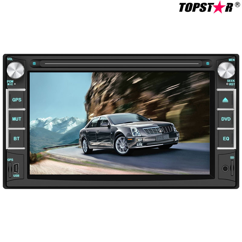 6.2inch Double DIN Car DVD Player with Wince System Ts-2018-1