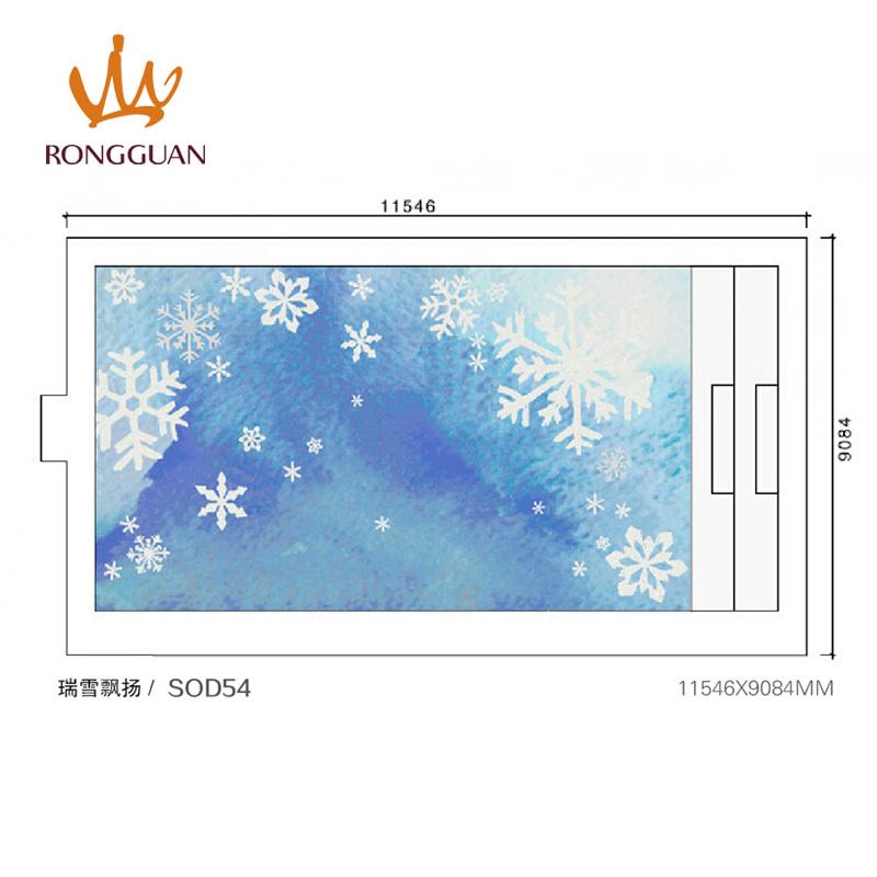 Glass Mosaic Tile for Swimming Pool Tile (SOD54)