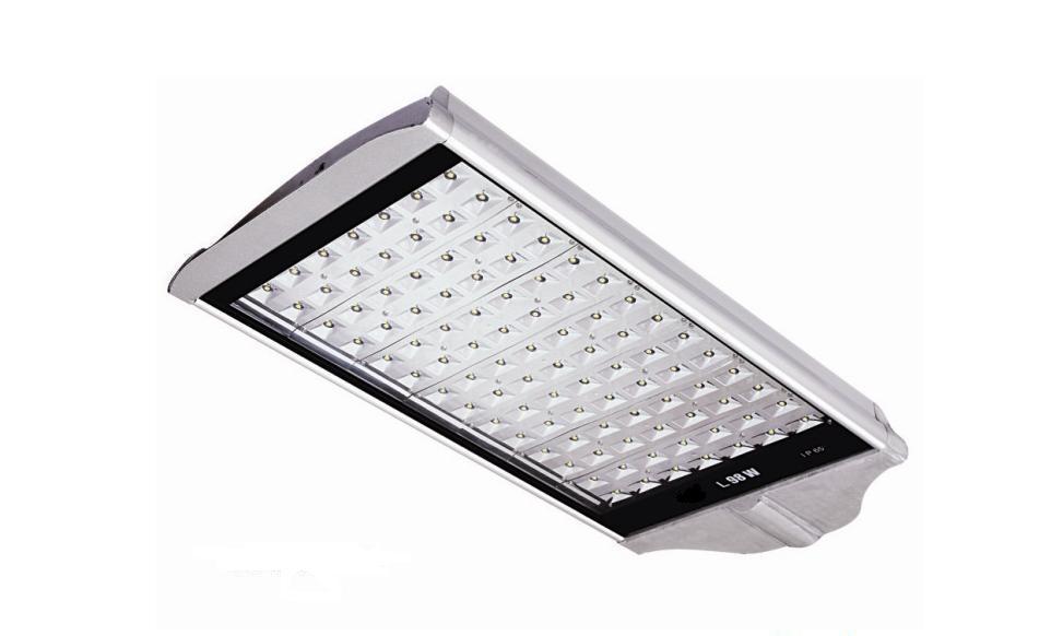 LED Street Light Pole High Power Solar LED Street Light 100W Walkway LED Street Lamp