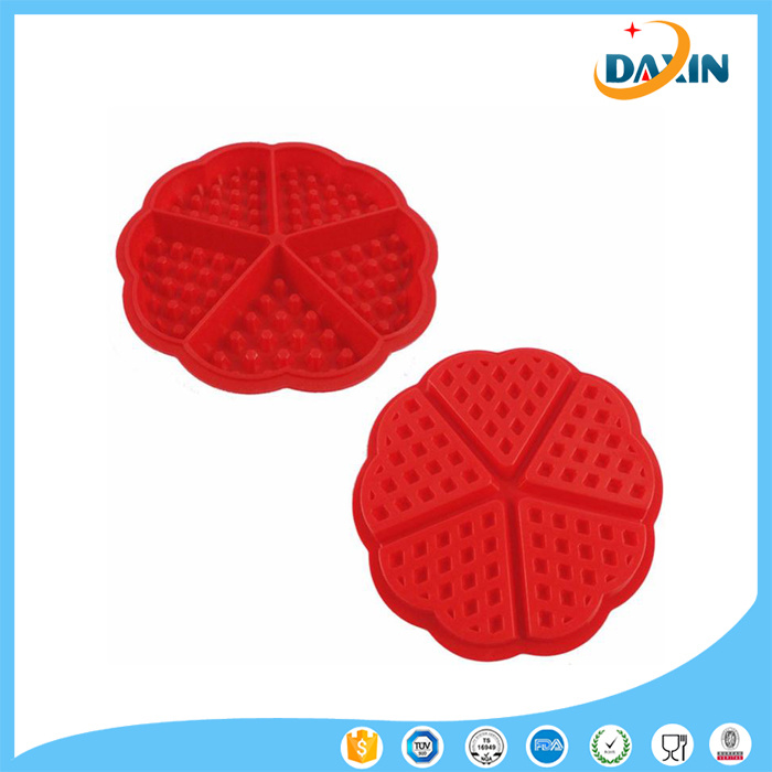 Family Silicone Waffle Mold Muffin Bakeware Cooking Tools Kitchen Accessories