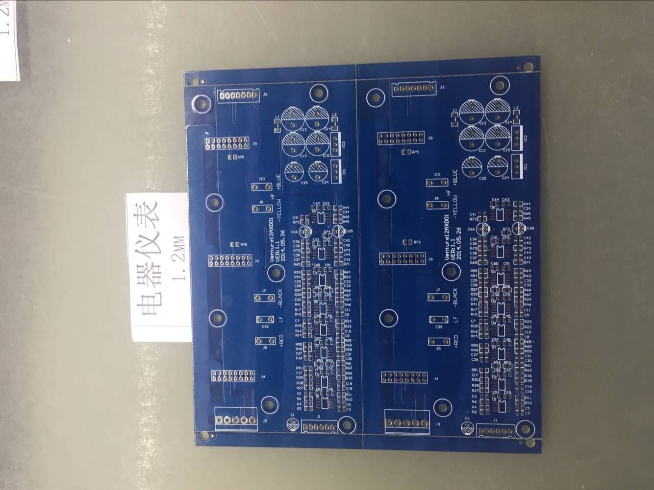 Double Sided PCB Printed Circuit Board for Electric Instruments PCBA Manufacturer