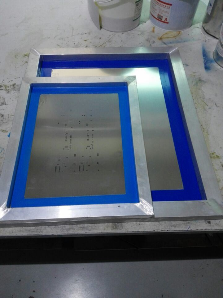 SMT Steel Mesh Laser Cutting Machine for Metal Sheet
