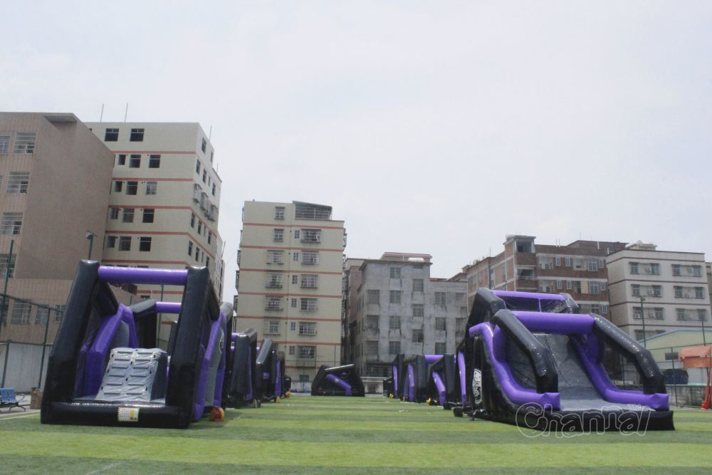 Xtreme Adrenaline Run Obstacle Course Chob532-Purple