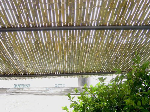 Anti-UV Environment Engineered Bamboo Fence