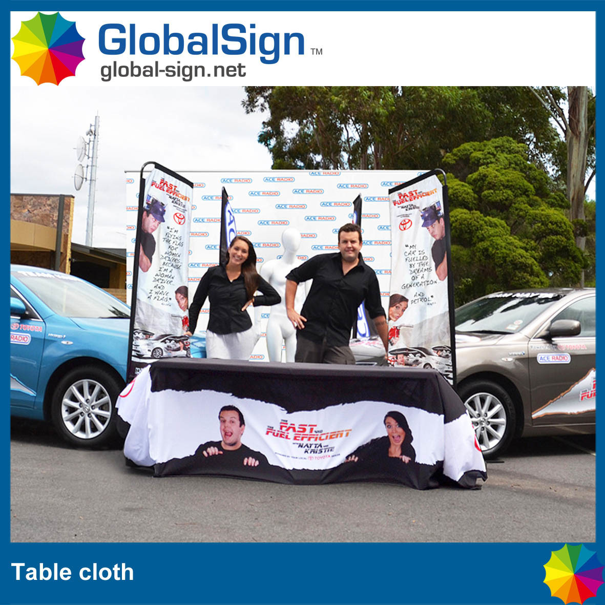 Hot Selling Fitted Table Cloths for Events and Sport