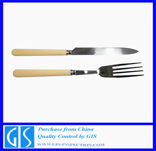 Pre-Shipment Inspection for Knife&Fork in China